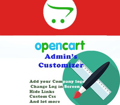 Opencart's Admin Panel Customizer